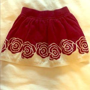Gymboree floral skirt. Size 2-3T